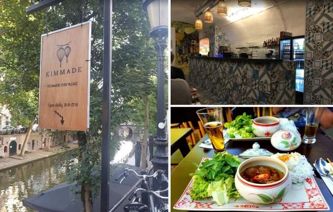 Nhà hàng Kimmade, Hà Lan - Khóa học nấu ăn mở quán ở nước ngoài - Học Món Việt