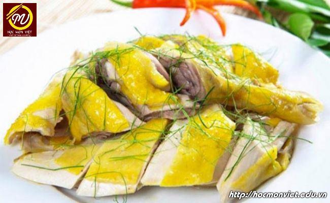 Món ăn ngon ngày Tết thịt gà luộc - Học Món Việt