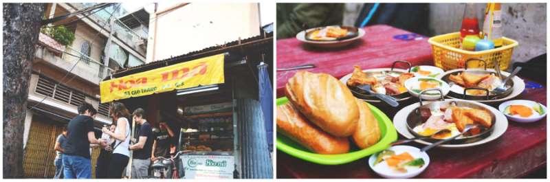 """Hành trình từ món ăn """"vay mượn"""" đến ngon nhất thế giới! Tiệm bánh mì Hòa Mã Học Món Việt"""
