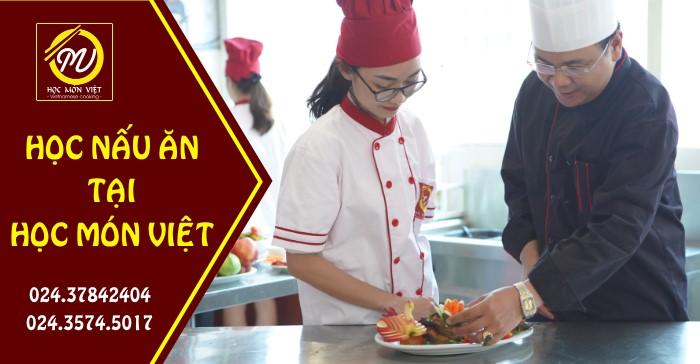 học nấu ăn tại Học Món Việt đăng ký ngay