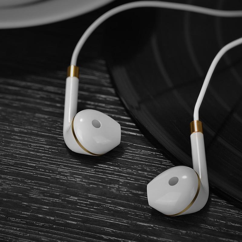 m1 original series earphone for apple white interior