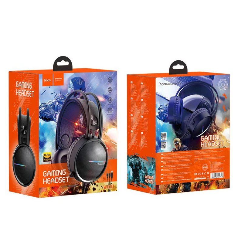 Hoco W100 Gaming Headphone With Mic price in bd