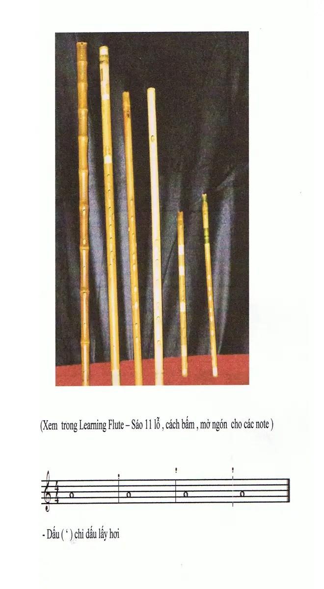Các kỹ thuật bấm ngón cơ bản trên sáo trúc