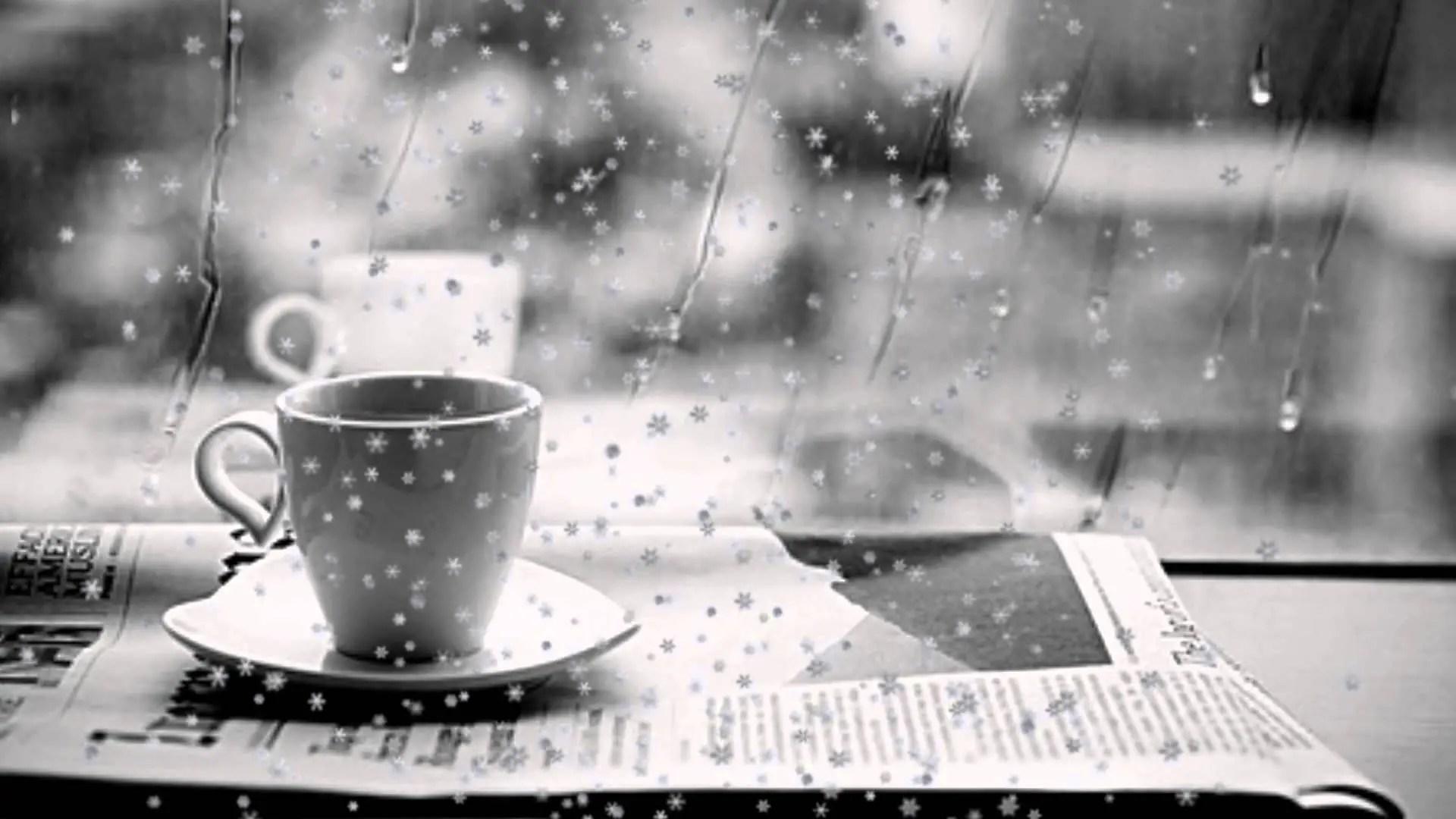 cảm âm Cafe đắng và mưa