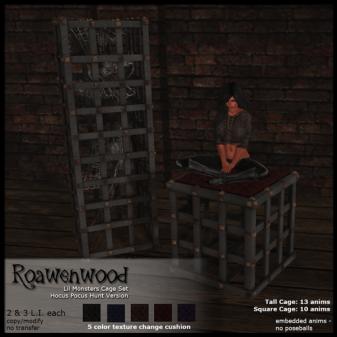 Roawenwood-Lil-Monsters-Cage-Set---Hunt-Version