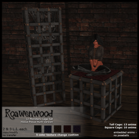 Roawenwood-Lil-Monsters-Cage-Set---Hunt-Version