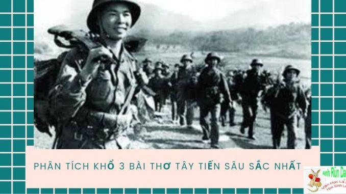 Phân tích khổ 3 bài thơ Tây Tiến của nhà thơ Quang Dũng