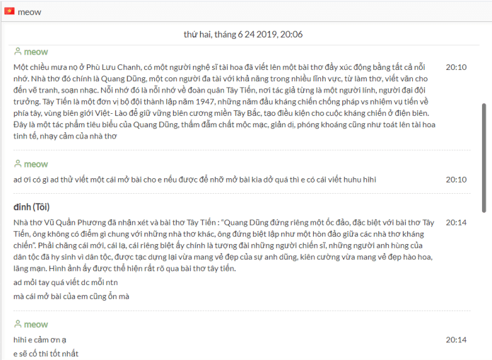 đánh giá về hocvan12