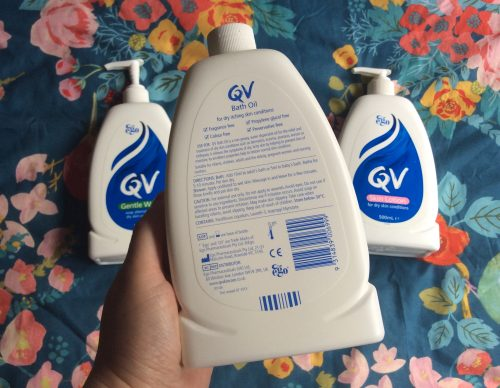 Review: QV Skincare for Eczema & Psoriasis