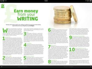 writing magazine feb 2014