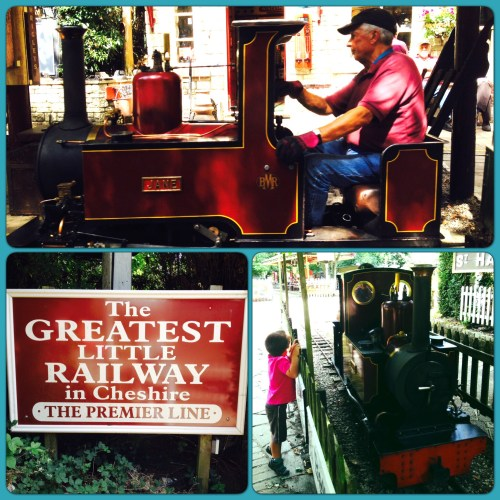 Big fun at the Brookside Miniature Railway, Poynton