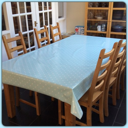 wipeable tablecloth