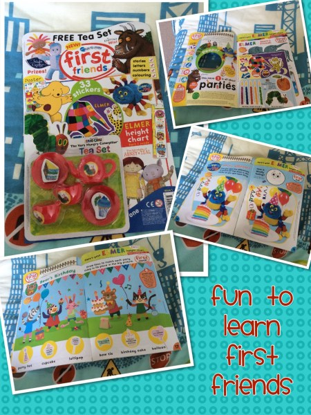 Fun to Learn First Friends Magazine