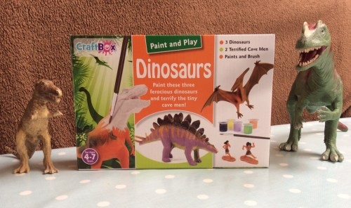 paint and play dinosaurs