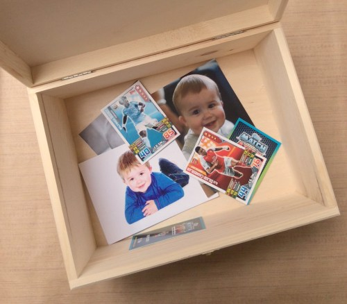 dust and things keepsake memory box