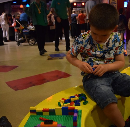 Legoland Manchester birthday party