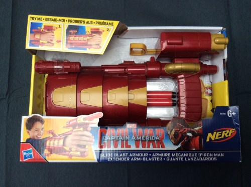Iron Man Slide Armour