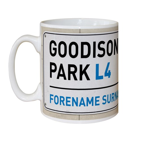 Win a Personalised Football Mug