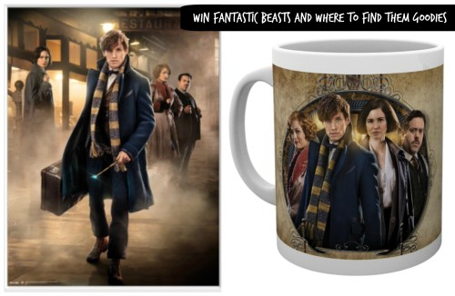 Win Fantastic Beasts and Where to Find Them Goodies
