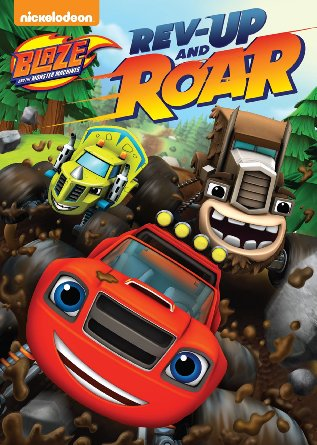 Blaze And The Monster Machines: Rev Up & Roar DVD