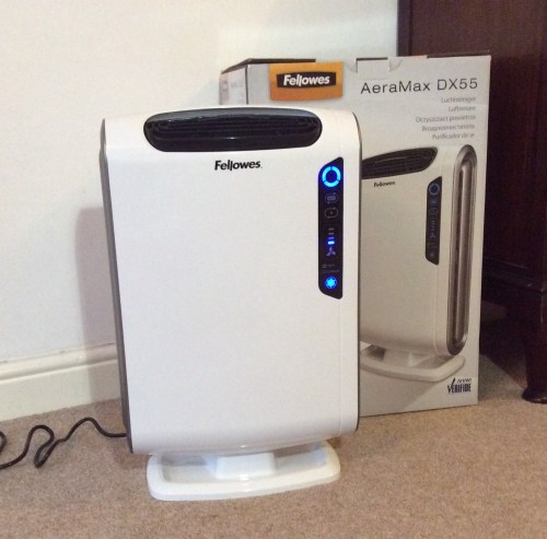 Review: Fellowes AeraMax DX55 Air Purifier