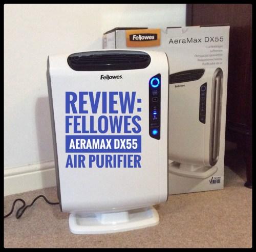 Review: Fellowes AeraMax DX55 Air Purifier