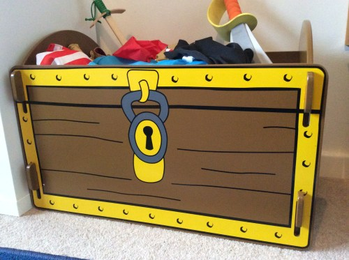 Review: Kidsaw Pirate Treasure Chest Toy Box