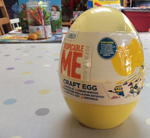 Review: Paw Patrol Craft Egg PLUS Win a Minions Craft Egg