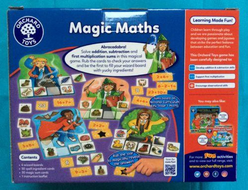 Review: Orchard Toys Magic Maths Game
