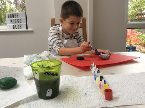 Craft Kit Review: Out Of The Box Pebble Painting Kit