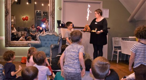 How to make an easy Volcano Birthday Cake