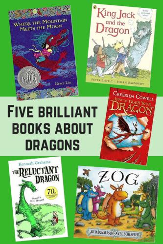 Children's Books: Five brilliant books about dragons