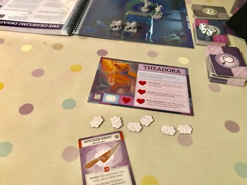 Blogger Board Game Club: Stuffed Fables