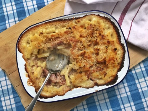 Recipe: Recipe: Ham Hock Macaroni Cheese