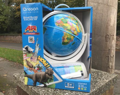 Review: Oregon Scientific Smart Globe Explorer AR