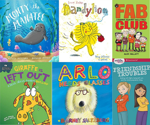 Six Books about Bullying for Anti Bullying Week