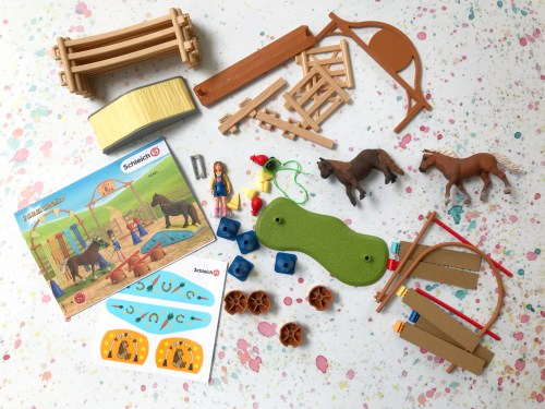 Toy Review: Schleich Pony Agility Training Set