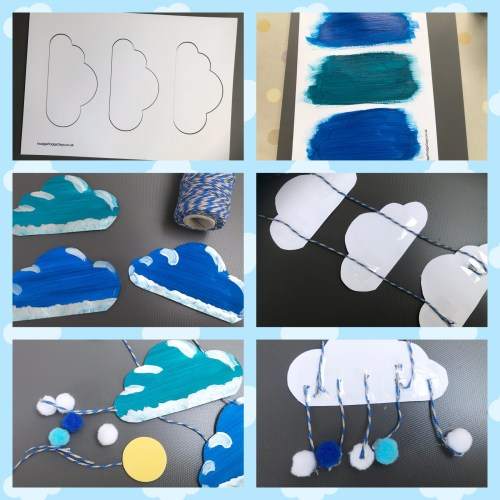 Crafts: How to make your own Cloud Mobile