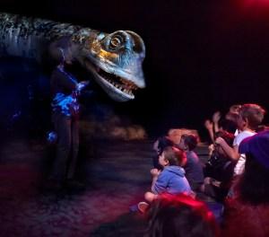 Dinosaur Petting Zoo, ERTH, Carriageworks