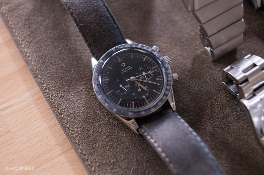 """<p>An Omega Speedmaster Professional """"Ed White"""" with the legendary caliber 321.</p>"""