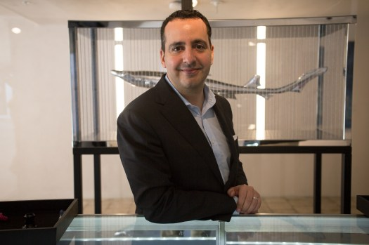 <p>Watch expert and lifelong collector Paul Boutros, of Phillips</p>
