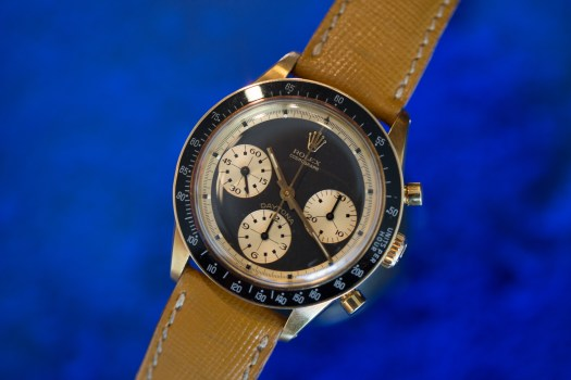 <p>'The John Player Special' Rolex Daytona Reference 6241 In Yellow Gold</p>