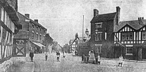 The square at Hodnet