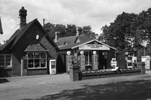 Shop & Post Office Peplow July 1962