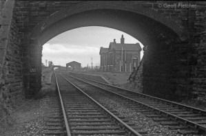 Hodnet Station Bridge March 1967