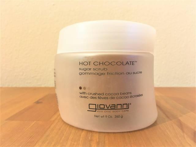 Giovanni, ジョヴァンニ, Hot Chocolate, Sugar Scrub
