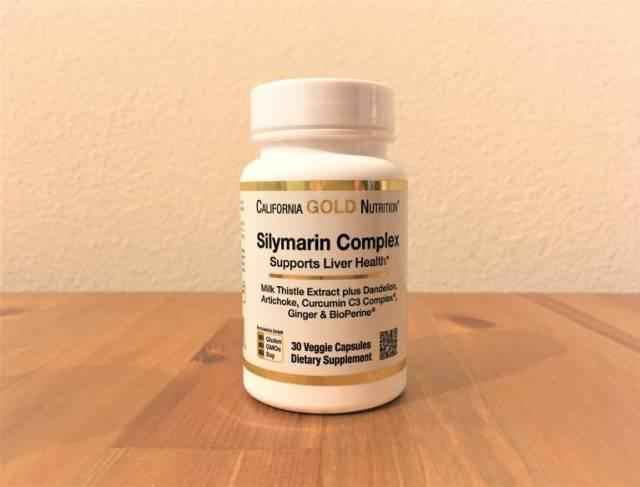 California Gold Nutrition, シリマリンコンプレックス