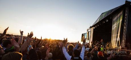 Stemning på Grøn Koncert Aarhus 2012
