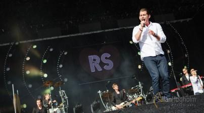Rasmus Seebach på Grøn Koncert Aarhus 2012