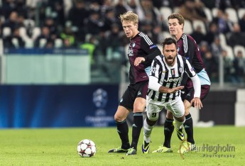 Juventus FC against FC Copenhagen in UEFA Champions League, 2013